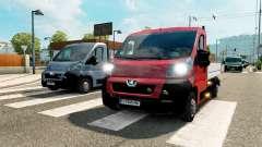 Peugeot Boxer captación de tráfico