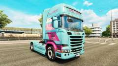 Jan Tromp piel para Scania camión