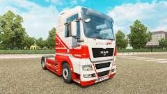 La piel en TruckSim tractor HOMBRE