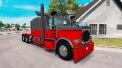 Hot rod de la piel para el camión Peterbilt 389