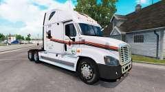 La piel METROPOLITANA de camión Freightliner Cas
