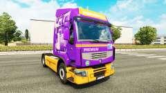 La piel Rensped para tractor Renault