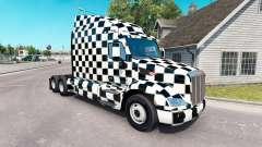 Los Cuadros de la piel para el camión Peterbilt