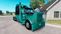 4 Metálico de la piel para el camión Peterbilt 3