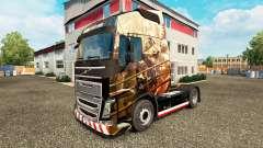 Husaria de la piel para camiones Volvo