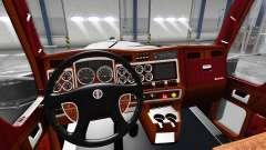 Interior para Kenworth W900