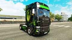 La piel del Monstruo en el tractor Scania R700