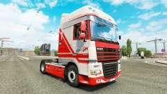 TruckSim de la piel para DAF camión