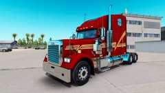 La piel Beggett en el camión Freightliner Classi