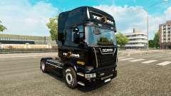 Tegma Logística de la piel para Scania camión
