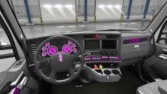 Interior de color Rosa Dial para Kenworth T680