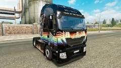 Rainbow Dash piel para Iveco tractora
