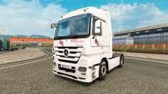 La piel BGL para tractor Mercedes-Benz