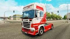 TruckSim de la piel para Scania camión
