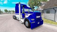 La piel de Equipos de Expresar camión Peterbilt