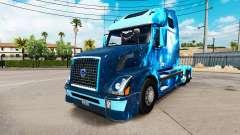 Fuego en la piel para camiones Volvo VNL 670