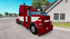 Скин Este Transporte LLC на Peterbilt 389