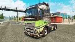 Brasil 2014 en la piel para camiones Volvo