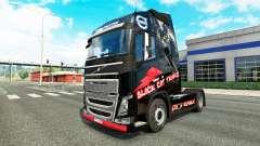 Piel de Gato Negro Trans para camiones Volvo