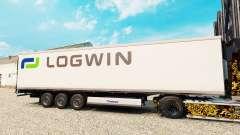 La piel Logwin Logística para la semi-refrigerad
