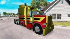 Pieles Metálicas 7 para el camión Peterbilt 389