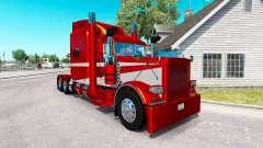 6 Metálico de la piel para el camión Peterbilt 3