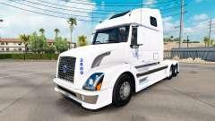 La piel de B. A. H. Express truck Volvo VNL 670