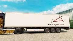 La piel ABC-Logística para la semi-refrigerados