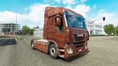 La piel Oxidado en el camión Iveco