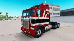 Barón rojo de la piel para Kenworth K100 camión