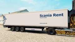 La piel Scania Alquiler de semi-refrigerados