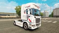 Intermarche de la piel para Scania camión