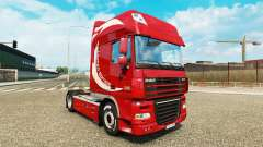 La piel Limited Edition v2.0 camión DAF