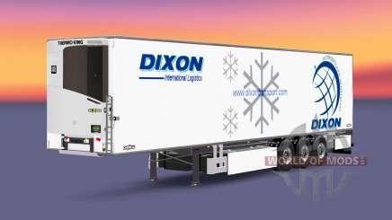 Semi-remolque frigorífico Chereau Dixon para Euro Truck Simulator 2