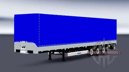 Plataforma semirremolque Krone SDP27 para Euro Truck Simulator 2