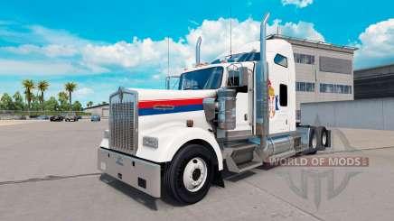 Serbia piel para el Kenworth W900 tractor para American Truck Simulator