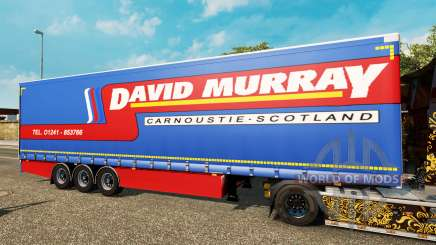 Cortina semirremolque Krone David Murray para Euro Truck Simulator 2
