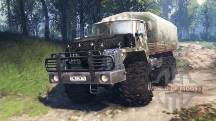 Ural-4320-10 v3.0 para Spin Tires