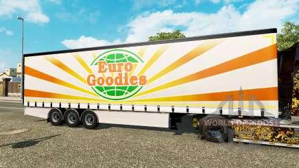 Corona de la cortina semi-remolque EuroGoodies para Euro Truck Simulator 2