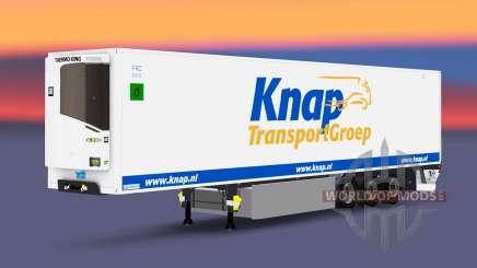 Semitrailer reefer EN Ce de Transporte para Euro Truck Simulator 2