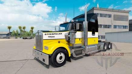 La piel de la Oruga tractor Kenworth W900 para American Truck Simulator