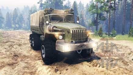 Ural-4320-10 para Spin Tires