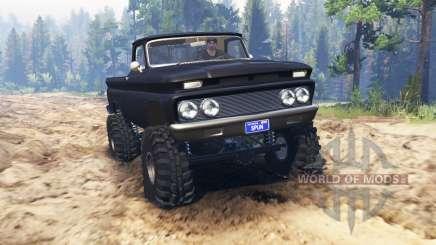 Chevrolet С-10 1966 Personalizado para Spin Tires