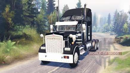 Kenworth W900 para Spin Tires