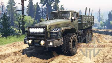 Ural-4320-10 v2.0 para Spin Tires