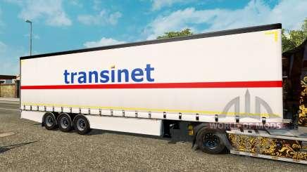 Cortina semirremolque Krone TransiNet para Euro Truck Simulator 2