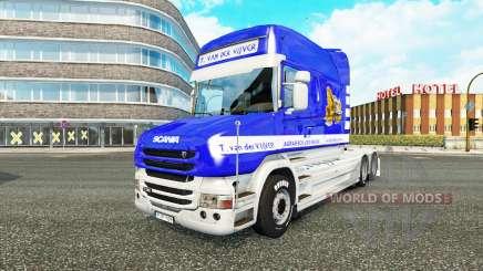 Scania T Longline [T. van der Vijver] para Euro Truck Simulator 2