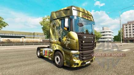 Las pieles de las Bebidas Energéticas en el tractor Scania R700 para Euro Truck Simulator 2