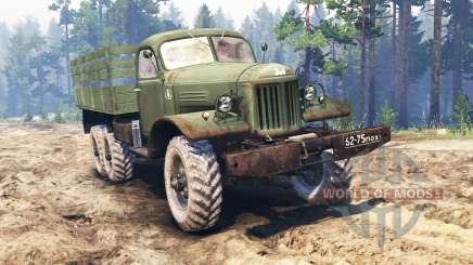 ZIL-157 v2.0 para Spin Tires