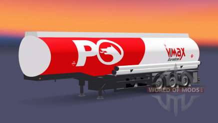 Combustible semi-remolque Petrol Ofisi para Euro Truck Simulator 2